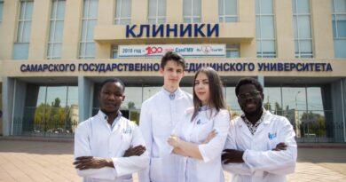 В Самарском медуниверситете стартовало обучение иностранных студентов на английском языке